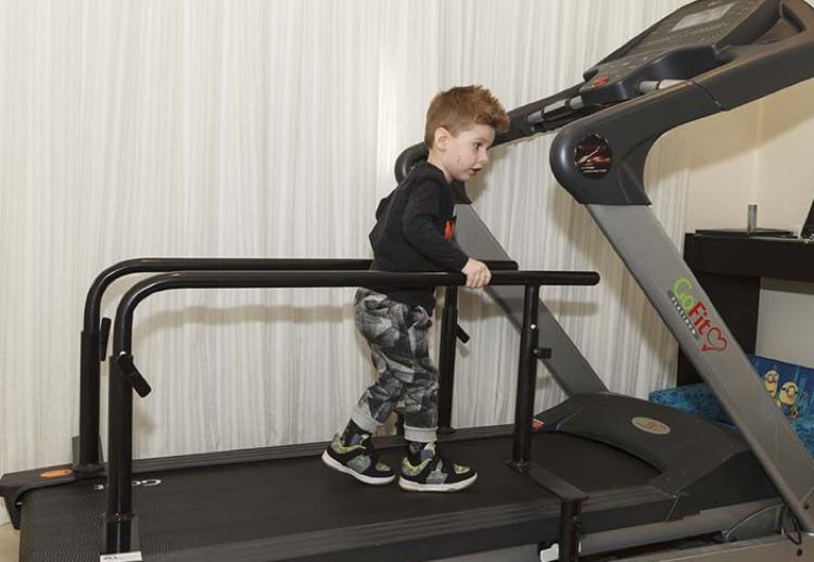 Jake bars on treadmill