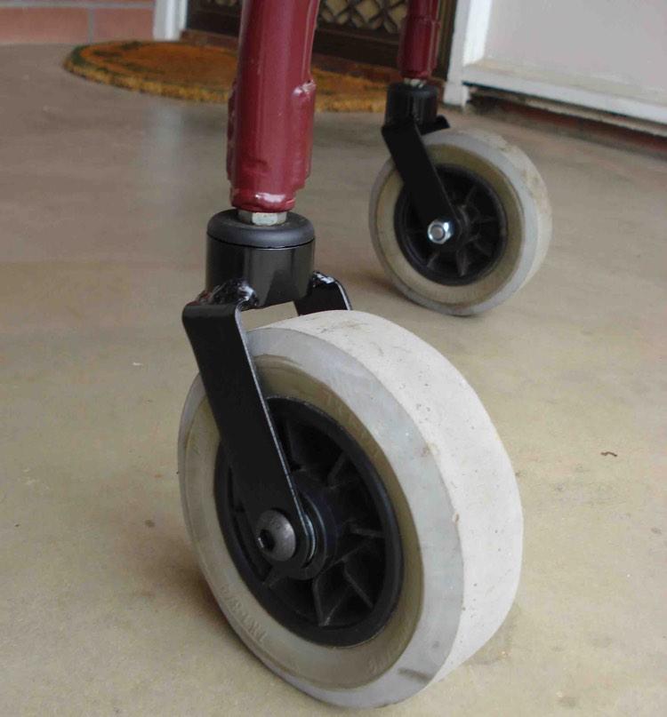 Walker wheels