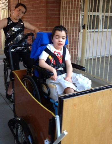 Cargo Bike for wheelchair1