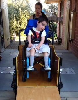Cargo Bike for wheelchair2