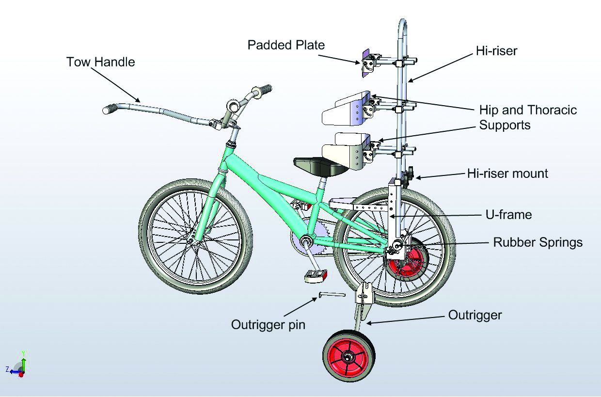 Diagram Bike Freedom Wheels