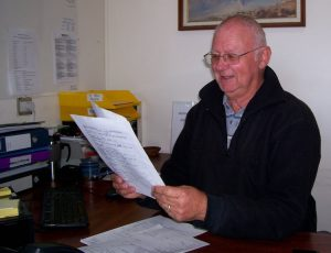 Tech member volunteer Ralph