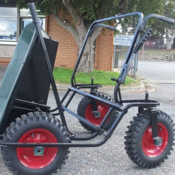 TADSA all terrain four wheeled wheelbarrow