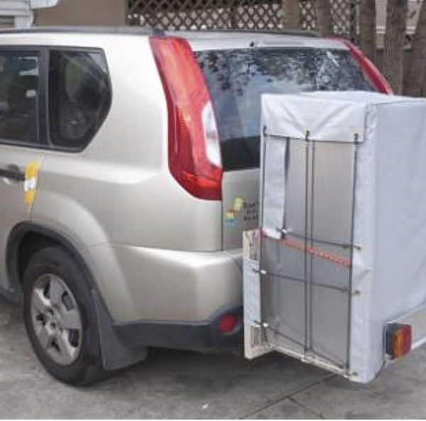 Wheelchair carrier 4WD 1