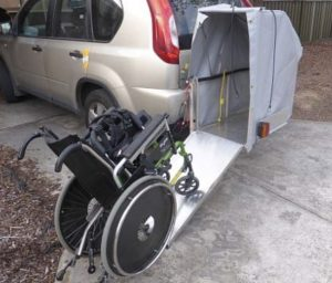 Wheelchair carrier 4WD 2