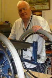TADSA volunteer Tony Scully